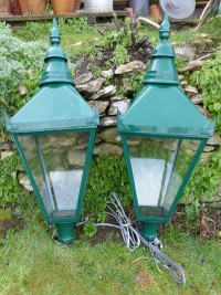 garden items. Streetlamp Tops Garden Items M