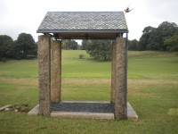 Granite and Slate Garden Pavilion