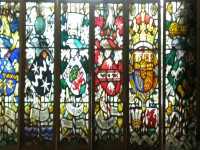 Set of 6 Stained Glass Panels